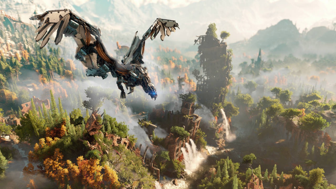 Horizon Zero Dawn Took 'Huge Effort' To Get Devs Tech Ready For Open World