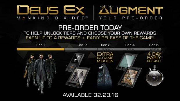 Deus Ex: Mankind Divided Releases on February 2016