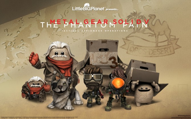 New DLC For LittleBigPlanet 3 Brings you Venom Snake!