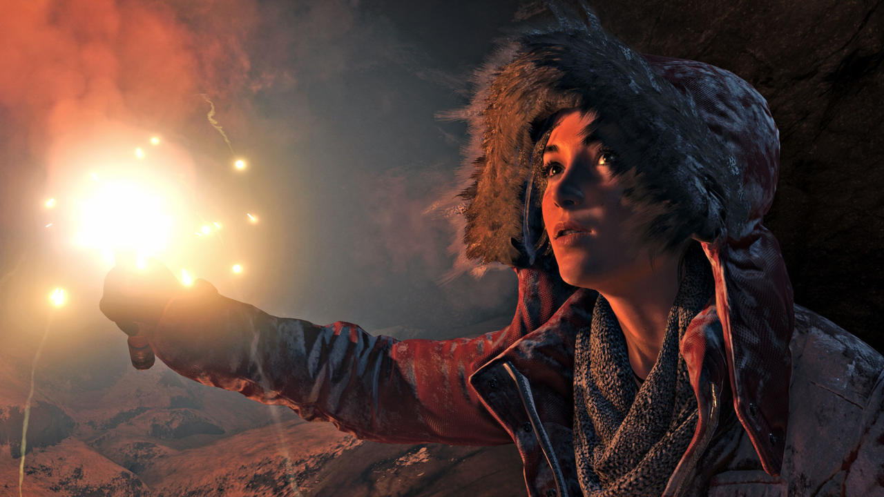Rise Of The Tomb Raider Using Async For Awesome Volumetric Lighting