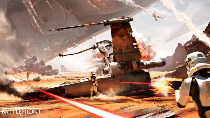 PS4 Getting Beta For Star Wars: Battlefront In Early October