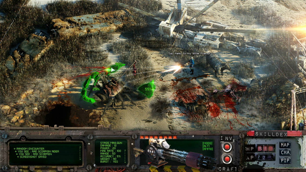 Fallout 4 Recreated In Isometric 2D – Images Surface on Web